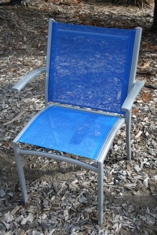 metal chair 16