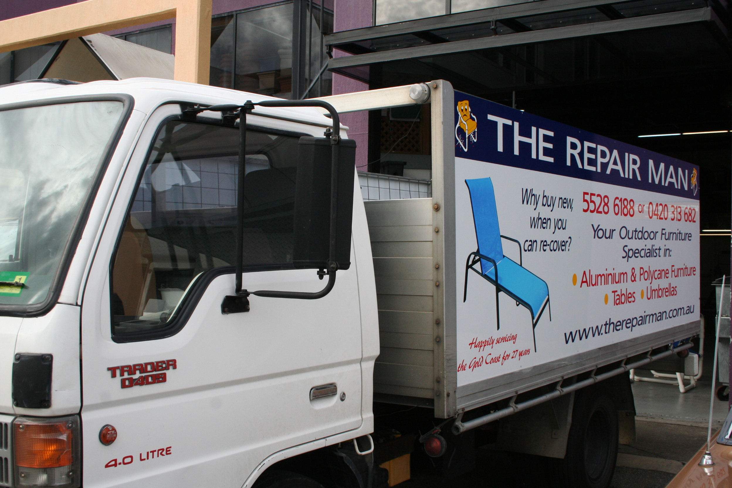 The Repair Man Truck
